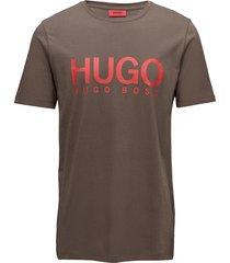 dolive t-shirts short-sleeved brun hugo