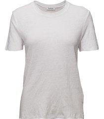 ninja linen t-shirts & tops short-sleeved wit rodebjer