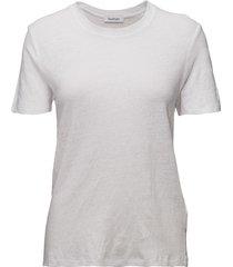 ninja linen t-shirts & tops short-sleeved wit rodebjer