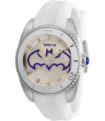 reloj blanco dc comics invicta 29299 dama