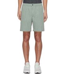 'eaton' lightweight cotton-nylon blend shorts