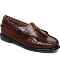 gh weejun ii wmn esther kiltie loafers låga skor brun g.h. bass