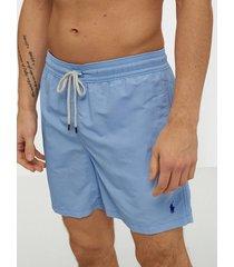 polo ralph lauren traveler swim shorts badkläder blue