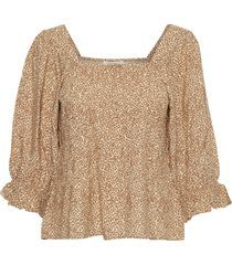 bellis peplum blouse