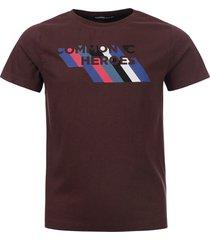 common heroes t-shirt bordeaux voor jongens in de kleur