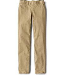 all-day stretch twill ankle pants, dark oak, 18