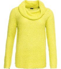 maglione a collo alto (giallo) - bodyflirt