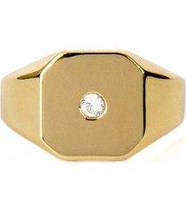 serge denimes gold plated silver bounty ring   gbtyrngu