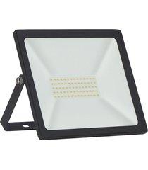 refletor led taschibra tr50, preto, 50 watts, 6500k - preto