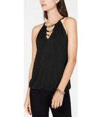 inc embellished halter top, created for macy's
