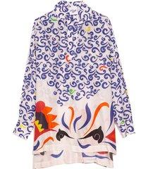 modal over blouse in carnival