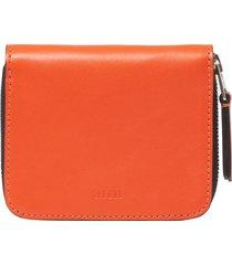 ami orange zipped wallet e18a007.300-800
