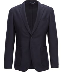 boss men's slim-fit blazer