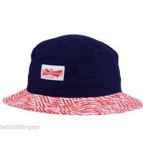 budweiser america king of beers boonie style bucket  cap/hat - osfm
