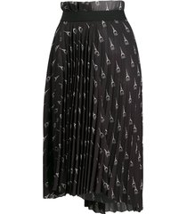 paris pleated skirt