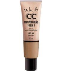 base facial vult - cc cream antipoluição 10 em 1 mb04