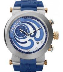 reloj be original azul mulco