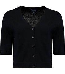 bolero vest zwart