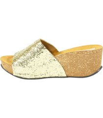 sandalia faja glitter oro mailea