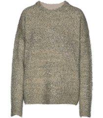 ozonaiw pullover gebreide trui grijs inwear