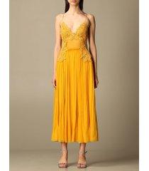 alberta ferretti dress alberta ferretti long dress in silk chiffon