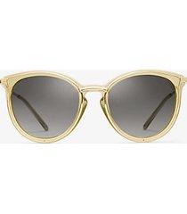 mk occhiali da sole brisbane - oro chiaro (oro) - michael kors
