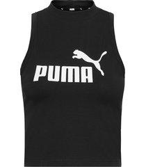 ess high neck tank t-shirts & tops sleeveless svart puma