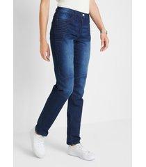jeans in bikerstijl met comfortband