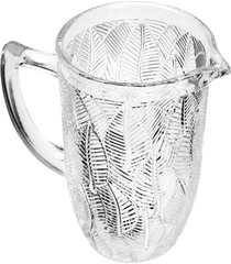 jarra de vidro transparente 1,3l piá