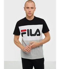 fila men day tee t-shirts & linnen black
