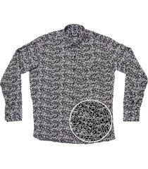 camisa negra lava type