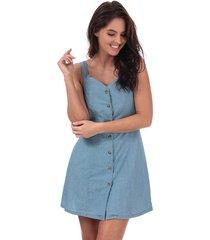 womens samantha chambray button dress