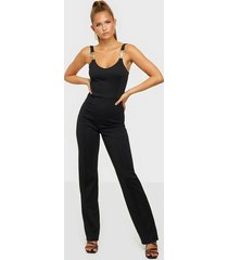 nly one gold trim jumpsuit jumpsuits