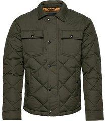 jjmalbert quilt jacket kviltad jacka grön jack & j s