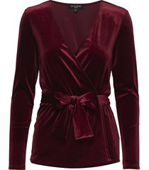 talula02 blouse lange mouwen rood ilse jacobsen