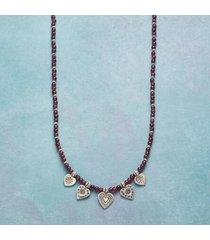 sundance catalog women's love's charm necklace