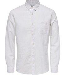 cadien solid linen shirt
