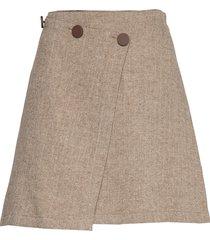 carb kort kjol beige max&co.