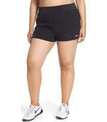 plus size women's nike swim board shorts, size 3x - black