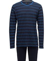 jbs pajamas, jersey pyjamas blå jbs