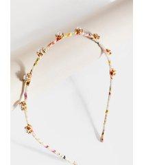 reese pearl cluster headband - pearl