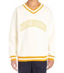 noon goons dropout varsity sweatshirt