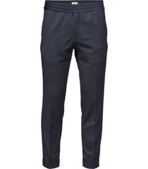 m. terry gabardine pants kostuumbroek formele broek blauw filippa k