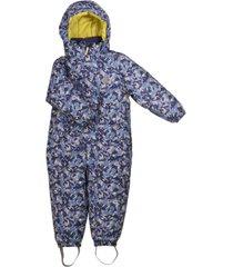 enterito little bear b-dry overall print azul lippi