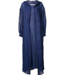 bambah marrakesh isabella kaftan and dress - blue