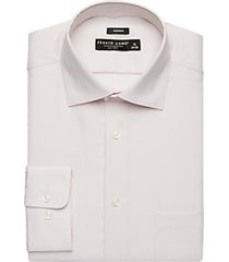 pronto uomo ivory queens oxford modern fit dress shirt