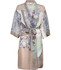 crdanica patchwork kimono kimonos multi/mönstrad cream