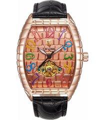 reloj, relojes de los hombres reloj de cocodrilo reloj-