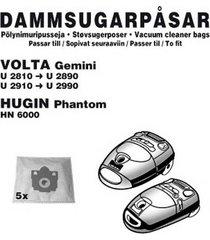 dammpåsar volta gemini 5st (1102ch)