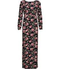 20's dress maxi dress galajurk multi/patroon by ti mo